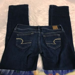 American Eagle Slim Boot-cut Jeans EUC
